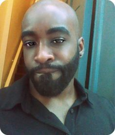 bald black men beard styles
