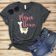 Fiesta Discover Cute Mama Llama Bohemian T-Shirt Llama Birthday, 1st Birthday Girls, First Birthday Parties, Birthday Shirts, First Birthdays, Birthday Ideas, Mom Shirts, Shirts For Girls, Llama Shirt