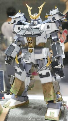 GUNDAM GUY: HGUC 1/144 Psycho Gundam Hikone Castle - GBWC 2015 (China) Entry Build