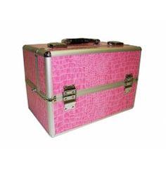 Roze Makeup koffer Professional