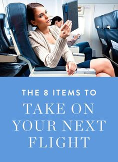http://www.greeneratravel.com/ Trip Deals - Eight must-have items to bring on your next flight.