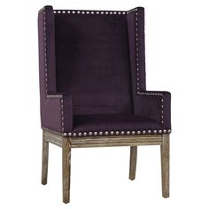 Viola Velvet Arm Chair  at Joss and Main