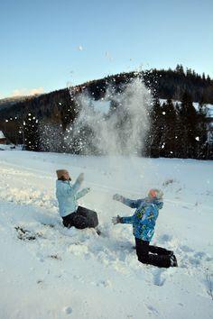 Zabawa śniegiem '14