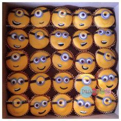 #pastelicious #cupcakes #minions #panques