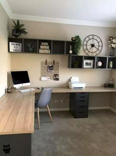 45 + Home Office Decor Ideas For Your Pe . - 45 Home Office Decor Ideas for Your Perfect Home Work 45 Home Office Decor Ideas for Your Pe - Furniture, Living Room Furniture, Home, Home Furniture, Furniture Decor, Red Furniture Living Room, Home Office Design, Cool Furniture, Desk Design