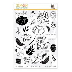 Stamps and Wafer Thin Dies by Tim Holtz Hero Arts Lawn Fawn Penny Black Mama Elephant Avery Elle Stampendous Prima Flowers Ranger Inks Memory Box Sizzix Simon Sez, Stamp World, Ranger Ink, You Are Amazing, Penny Black, Simon Says Stamp, Hero Arts, Card Kit, Adult Coloring