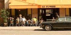 While Le Fumoir is an excellent restaurant, with a delightful lunch, it's their cocktails we're drawn to most.