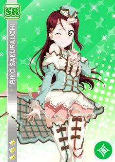 #1146 Sakurauchi Riko SR idolized