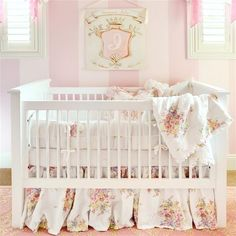 Get chic and whimsical ideas for a baby girl nursery