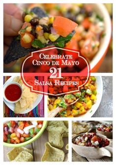 21 Salsa recipes brought to from Parade magazine community table and Seduction in the Kitchen!