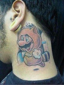 50 Best Gamer Tattoo Designs and Ideas - Beste Tattoo Ideen Gamer Tattoos, Funny Tattoos, Leg Tattoos, I Tattoo, Cool Tattoos, Tatoos, Sweet Tattoos, Awesome Tattoos, Nintendo Tattoo