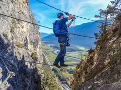 Klettersteig Geierwand : Bastian denøtte sebastiantrenkler auf pinterest