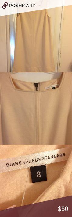 DVF dress DVF wool dress, minimal wear, great piece! Diane von Furstenberg Dresses