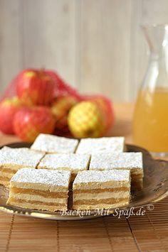 Doppelter Apfelkuchen