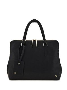 The Genevieve tote is a nod to the menswear portfolio trend. It can carry your laptop, iPad, tablet or smartphone yet still looks chic and polished. We love the abundance of function and the soft look of the leather.