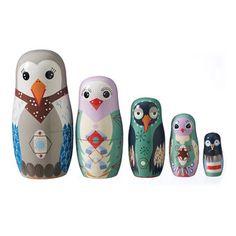 Babushka Bird family  - Speelgoed bij babymolen.nl