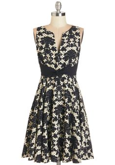 Painted with Panache Dress in Damask $144.99