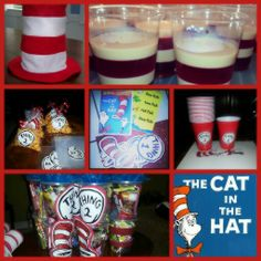 Cat in the hat baby party