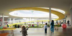 Galería de FP Arquitectura, primer lugar en concurso Ambientes de Aprendizaje del siglo XXI: Jardín Infantil Tibabuyes - 1