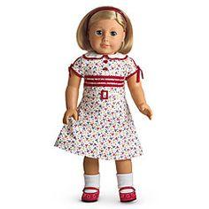American Girl® Dolls: Kit's Reporter Dress-dress, headband, socks, shoes.