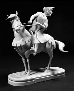 Inspirational Artist of the Day: Andrea Blasich (Sculptor - Animation)