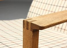 Børge Mogensen. Slædestol Wood Joinery, Wood Work, Danish Modern, Danish Design, Objects, Woodworking, Detail, Chair, Kitchen