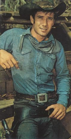 Robert Fuller as Jess Harper--Wagon Train