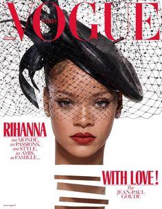 Rihanna vogue paris noel mode numero decembre 2017 janvier 2018 1