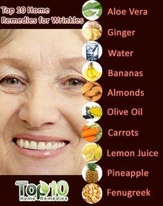 Wrinkles home remedies