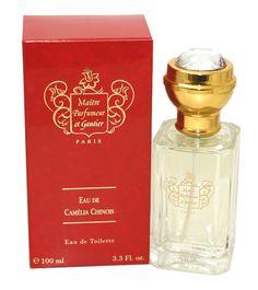 Eau De Camelia Chinois Perfume By Maitre Parfumeur Et Gantier