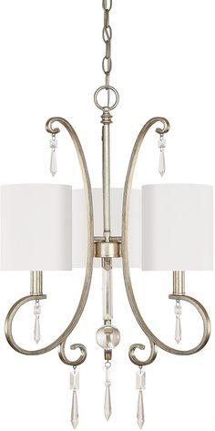 Capital Lighting Simone Chandelier Winter 4463WG-565-CR | LampsUSA