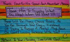 Bible Study Card