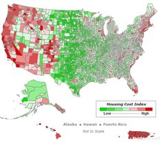Cost Of Living Bar Chart Of Top US States Cost Of Living Pinterest - Cost of living us map