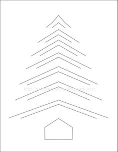 Extreme Cards and Papercrafting: Incire Christmas Tree Kirigami, Christmas Tree Template, Christmas Tree Cards, Fancy Fold Cards, Folded Cards, Homemade Christmas Cards, Christmas Diy, Handmade Christmas, Pop Up Karten