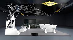 Nous concevons des espaces d'exposition ergonomiques et expérientiels, véhiculant votre identité de marque et favorisant l'interaction. Nous mettons à votre service nos raisonnements stratégiques et notre approche du design d'espace pour générer le maximum de trafic et la meilleure expérience possible. Design espace - Design stand - Événementiel - Design commercial - Stand exposition - Communication - Salon - Foire - Expérience - 3D - Trafic - Animation salon - Contenus digitaux -  Print