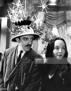 FAMILY - 'Cousin Itt Visits' - Season One - 1/14/65 Gomez (John Astin) and Morticia