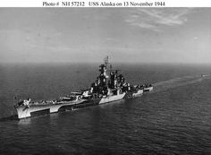 USS Alaska CB-1 on 13 Nov 1944