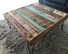 Coffee Table Plans, Coffee And End Tables, Outdoor Coffee Tables, Diy Coffee Table, Make A Table, Diy Table, Diy Furniture Easy, Furniture Redo, Furniture Ideas
