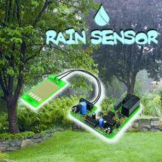 An open source Rain Sensor and controller | Open Electronics
