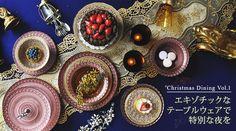 クリスマステーブルコーディネート2015