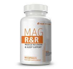 Mag R&R™ Natural Muscle Relaxation Supplement with Magnesium Glycinate (PM Formula) - 90 Capsules Sleep Supplements, Amino Acid Supplements, Magnesium Deficiency Causes, Magnesium Glycinate, Nerves Function, Muscle And Nerve, Leg Cramps, Ayurvedic Herbs, Neck And Back Pain