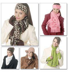 Wish List - Headbands, Hat, Scarves, Neck Warmer,  Fingerless Gloves And Gloves