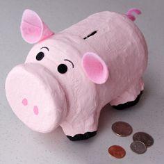 Fun rainy day activity. Piggy bank
