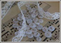 Set brocante knoopjes, 40 stuks | FOURNITUREN | Feeling At Home