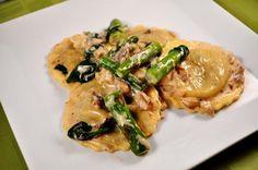 Mushrooms add flavor to Alfredo sauce