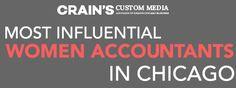 "Our partners at Wipfli LLP made a strong showing in Crain's Chicago Business's inaugural list of ""The Most Influential Women Accountants in Chicago"" — congratulations to honorees Kathy Musial and Susan Witz on a job well done! #womeninfinance #empowered #inspiration #career"