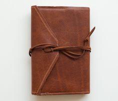 Handmade Leather Moleskine Journal Cover