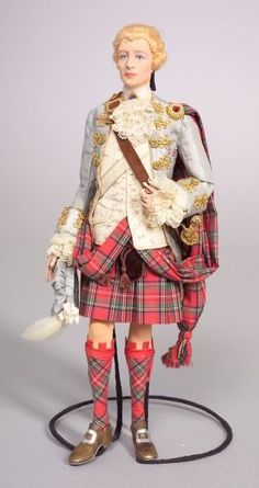 Bonnie Prince Charlie from the Pettie portrait which was owned by The Drambuie Company until they were bought out...the jacket should be green, not blue!