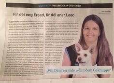 """Artikel """"Lëtzebuerger Journal"""" - 31.12.2014"""