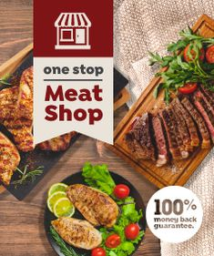 Want deals on fresh, quality meat? We have them – everyday. Shop today, and fill up for less.